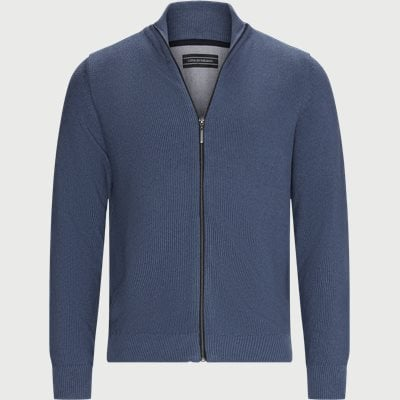 Munich Cardigan Regular | Munich Cardigan | Denim